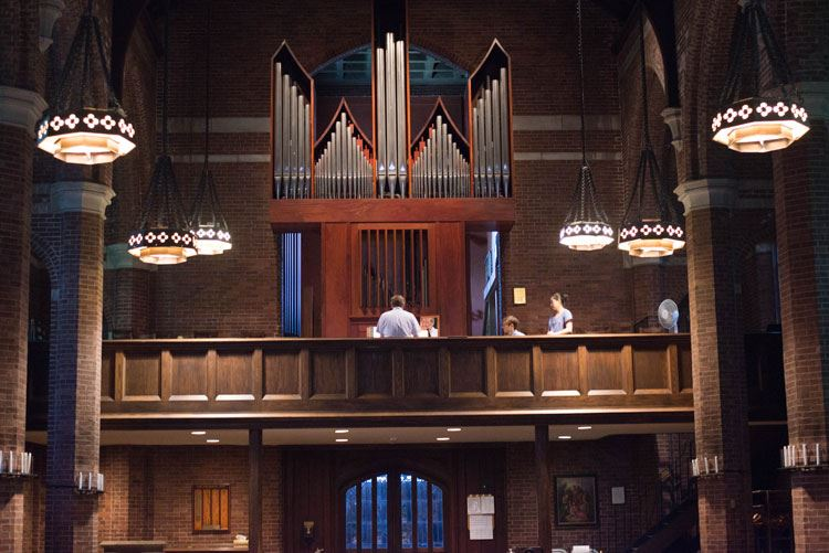 The Parish of the Epiphany - Organs & Instruments